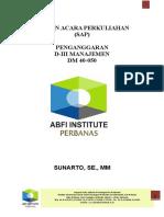 RPS Penganggaran DKP.doc