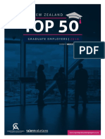 New Zealand Top 50 Graduate Employers Guide