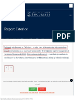 STATUL ROMAN NU A INFIINTAT prin LEGE Universitatea din Bucuresti