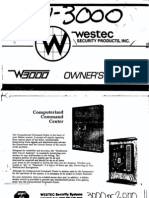 Westec Security - W3000 User Manual[2]