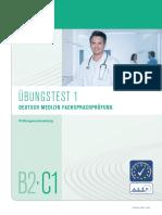 Telc Deutsch b2-c1 Medizin Fachsprachpruefung Uebungstest 1 (1)