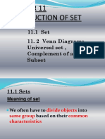 Introduction of Set