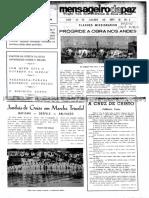 MENSAGEIRO DA PAZ Nº 1 DE 1971
