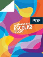 Calendario 2020 MEP - Costa Rica