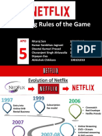 Netflix-Changing the Rules of the Game
