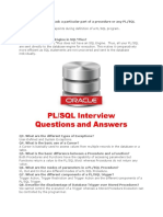 Oracle Interview Ques