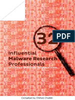 32 Malware Research Professionals Cz3lys