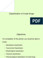 Classification of crude drugs-1