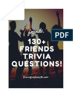 130+ Friends Trivia Questions