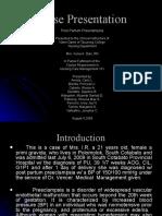 Post Partum Preeclampsia (Mild)