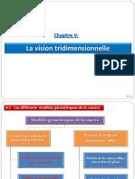 Chapitre 5 - La vision 3D