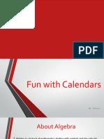 Fun With Calendars