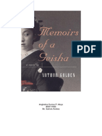 Memoirs of a Geisha Book Review