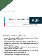 Sodium Chlorite Evaluation