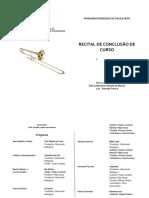 RCC Raimundo - Programa