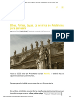 Ethos, Pathos, Logos. La Retórica de Aristóteles Para Persuadir _ Nacho Tellez