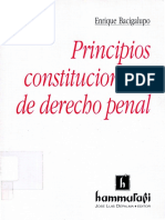Bacigalupo, Enrique - Principios Constitucionales de Derecho Penal