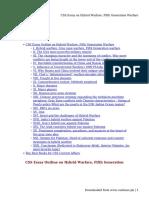 CSS Essay on Hybrid Warfare, Fifth Generation Warfare.pdf