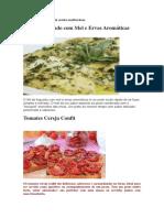 Pratos da cozinha mediterrânea