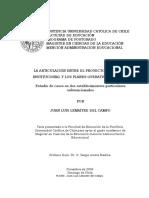 Articulación Entre El PEI y Los Planes Operativos Anuales