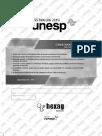 Simulado UNESP1Fase-HexagMEDICINA Maio MD