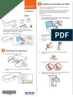 Guía de Instalación - Impresora Epson Stylus TX125