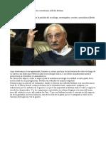 Falleció el sociólogo Alfredo Molano