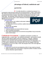 s1i PDF Advantages and Disadvantages of Federal Confederate and Unitary Systems Of