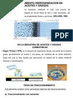 Fraccionamiento Hidrogenizacion en Aceites y Grasas Diapo