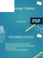Presentation for a WhatsApp Bot