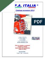 FA Italia Catalogo Accessori 2014
