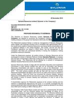 261110 SLV Change of Domicile ASX
