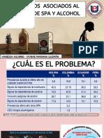 CONSUMO DE SPA Y ALCOHOL