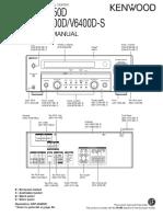 Kenwood Krf-V5450d v6400d s