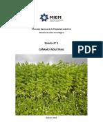 Boletín-N°-1-Cáñamo-Cáñamo-Industrial-2015