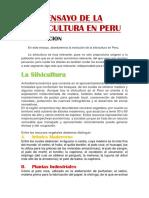 2 Ensayo de La Silvicultura en Peru Tarea 2