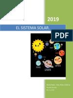Proyecto El Sistema Solar