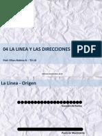 04 Linea y Direcciones Visuales