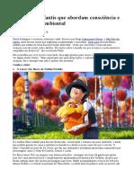 7 filmes infantis que abordam consciência e conservação ambiental