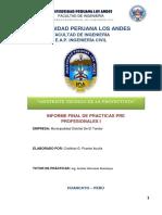 informe FINAL FINAL de practicas Cristhian
