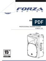 Toppro Forza active speakers