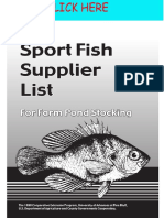 Agriculture Livestock Sportsfish Suppliers