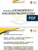 Psicología, clasificación diagnóstica.