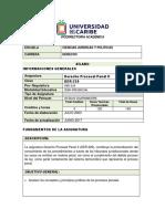 Silabo Derecho Procesal Penal II(1)