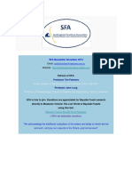 SFA Newsletter November 2019