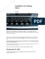 Guidelines On Mixing Electronic Music.docx