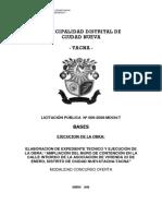 PREPUBLICACION DE BASES