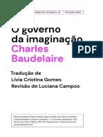 BAUDELAIRE, Charles. O governo da imaginação