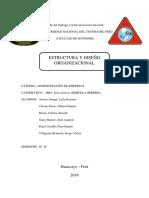 GRUPO 1 Estructura y Diseño Organizacional