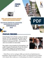 PRESENTACIÓN  No. 1 INTRODUCCIÓN  PAULO FREIRE.ppt